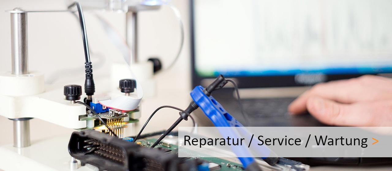 Löten an Platine Reparatur, Service, Wartung